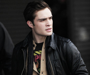 ed westwick and gossip girl image