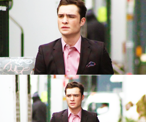 actor, ed westwick, and elegant image