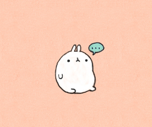 cute, bunny, and quote image