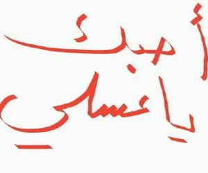 ❤, love, and أُحِبُكْ image