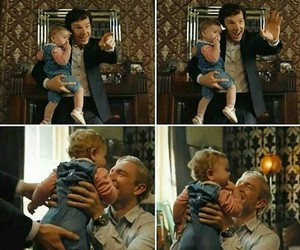 baby, Finale, and sherlock image