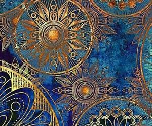 blue, elegant, and circles image