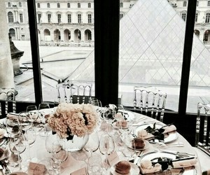 paris, luxury, and food image
