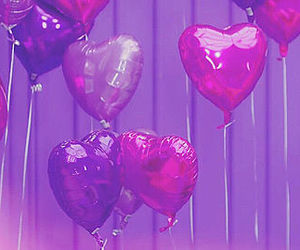 balloons, girl, and inspire image