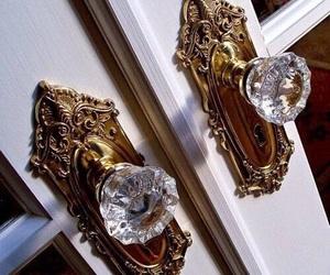 door, diamond, and house image