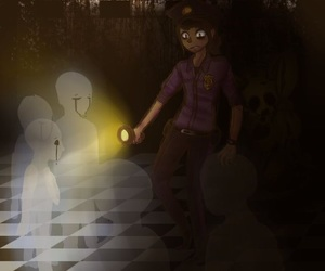 dead end, ghost, and missing children image
