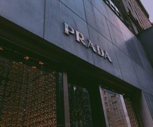 clothes, Prada, and shop image