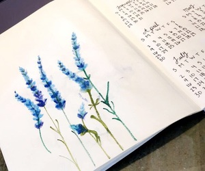 blue, calendar, and drawing image