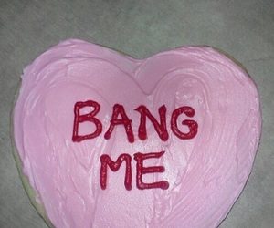 cake, pink, and bang me image