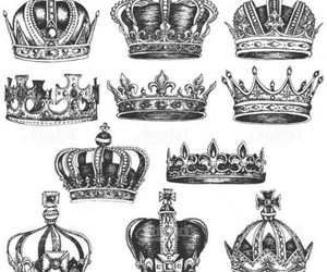 crown, design, and draw image