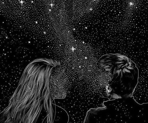 stars, love, and couple image