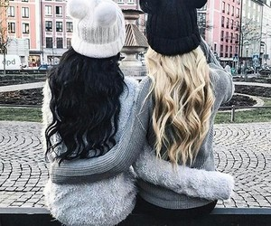 friends, best friends, and hair image