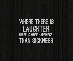 happiness, illness, and quote image