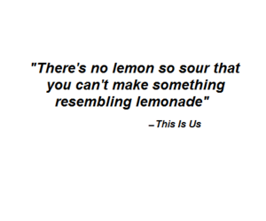 lemon, lemonade, and NBC image