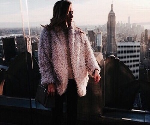 pink, city, and new york image