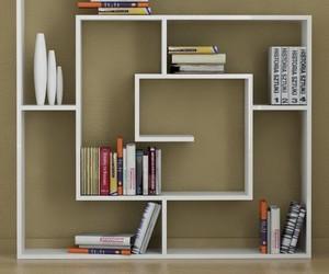 books, bookshelf, and creative image