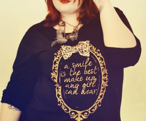 fashion, girl, and red hair image