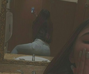 brunette, jeans, and me image