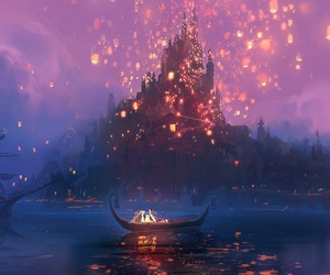 tangled, disney, and rapunzel image