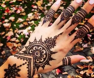 fall and henna image