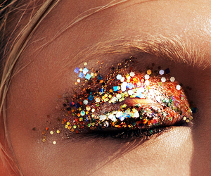 fashion, girl, and makeup image