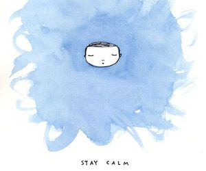 stay calm and calm image