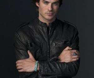 the vampire diaries and daemon salvatore image