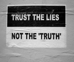 lies, trust, and truth image