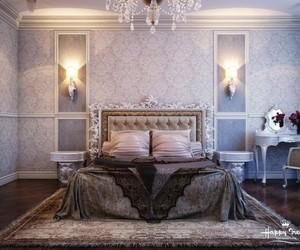 elegant and romantic bedroom image