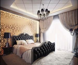 elegant romantic bedroom image