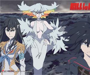 anime, klk, and senketsu image