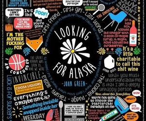 looking for alaska, book, and john green image