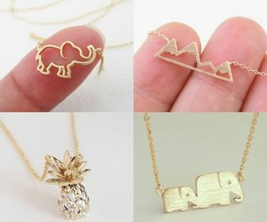 accesories, gold, and jewelry image