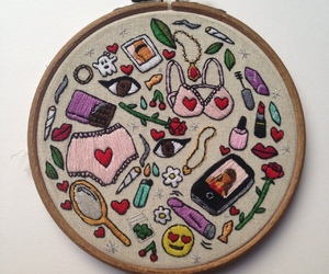 aesthetic and embroidery image