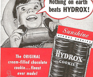 1950's, chocolate, and Cookies image