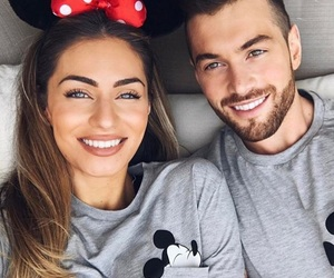 beautiful, bed, and couple image