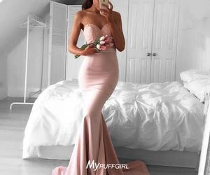 mermaid, satin, and pageant image