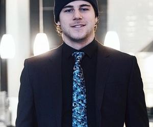 black suit, player, and nathan beaulieu image