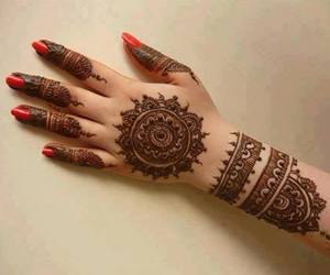 henna, mehendi, and mehndi image