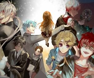mystic messenger, zen, and yoosung image