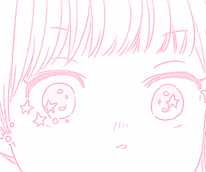 girl, pink, and kawaii image