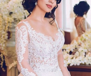 bride, hair, and pretty image