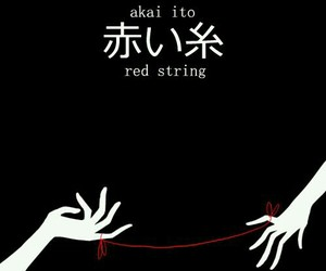 red string image