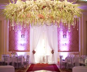 decorations, wedding flowers, and romantic decoration image
