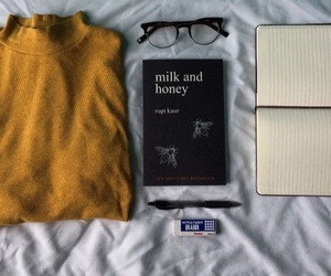 aesthetic, poetry, and milk and honey image