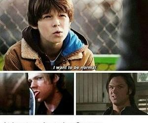 supernatural, spn, and funny image