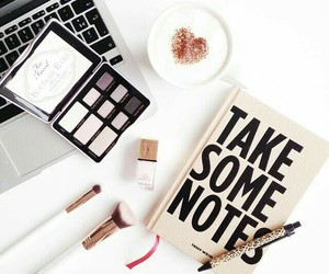coffee, makeup, and beauty image