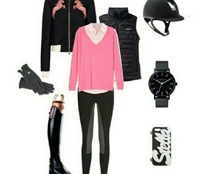 equestrian, equestrian style, and equine image