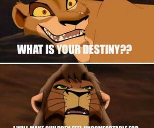 funny and lion king image