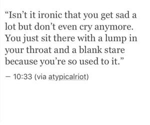 blank, cry, and sad image